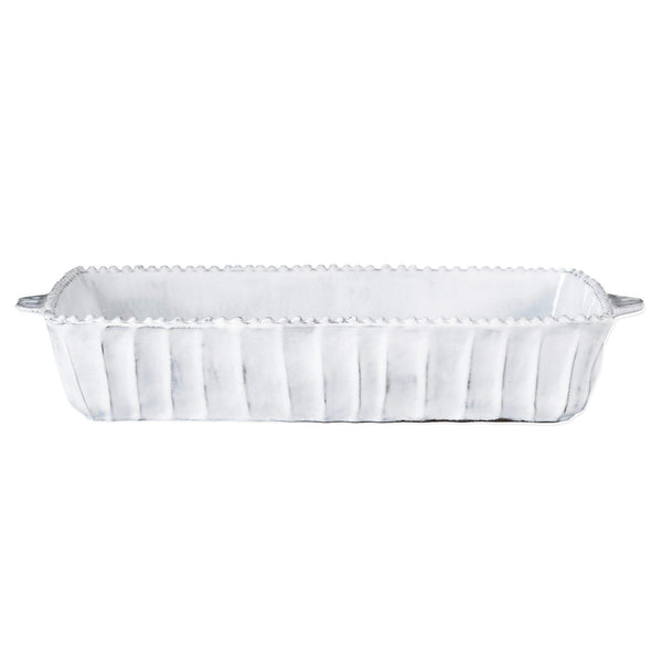 Vietri Vietri Incanto Stripe Medium Rectangular Baking Dish INC-1161