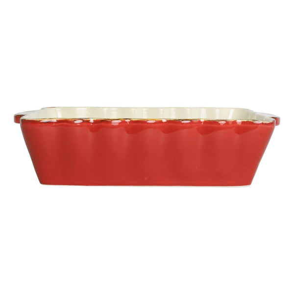 Vietri Vietri Italian Bakers Red Rectangular Baker ITB-R2952