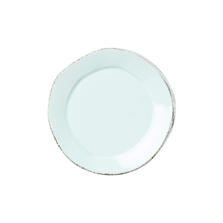 Vietri White Lastra Canape Plate - Available in 6 Colors LAS-2670W