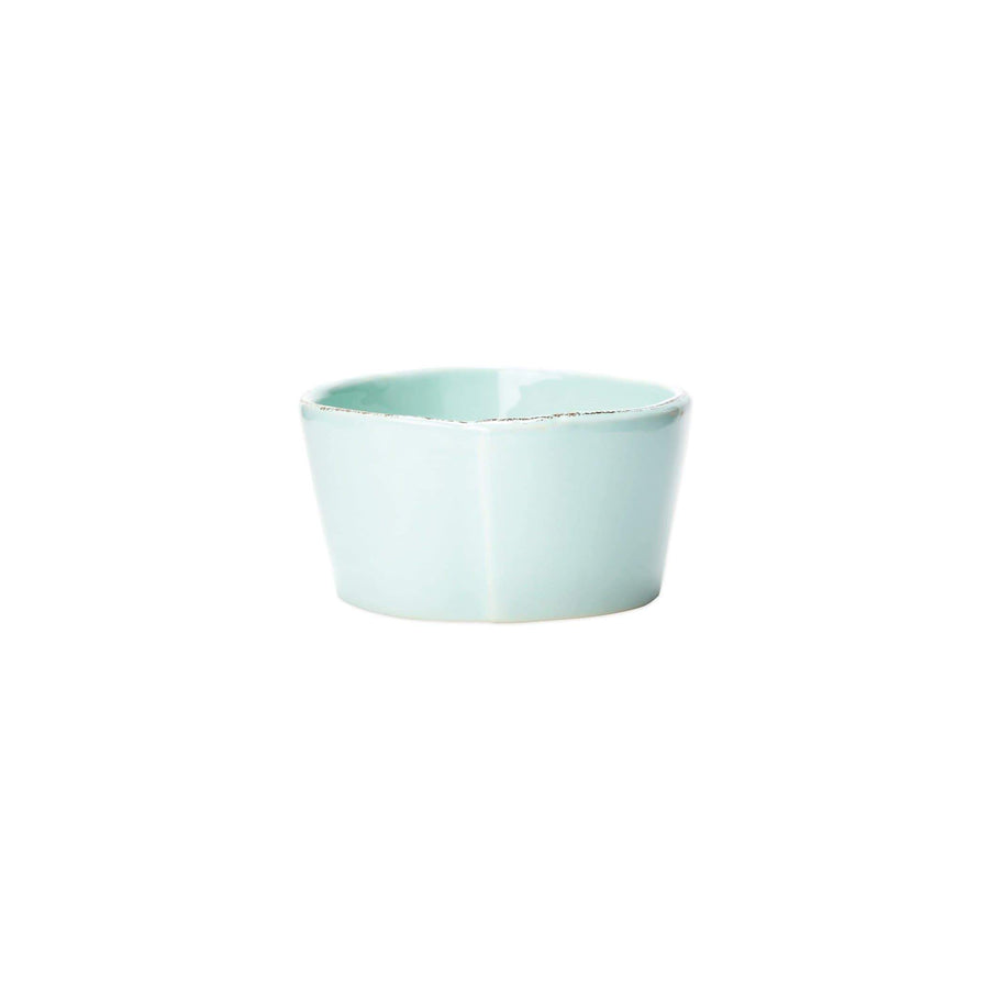 Vietri White Lastra Condiment Bowl - Available in 6 Colors LAS-2603W