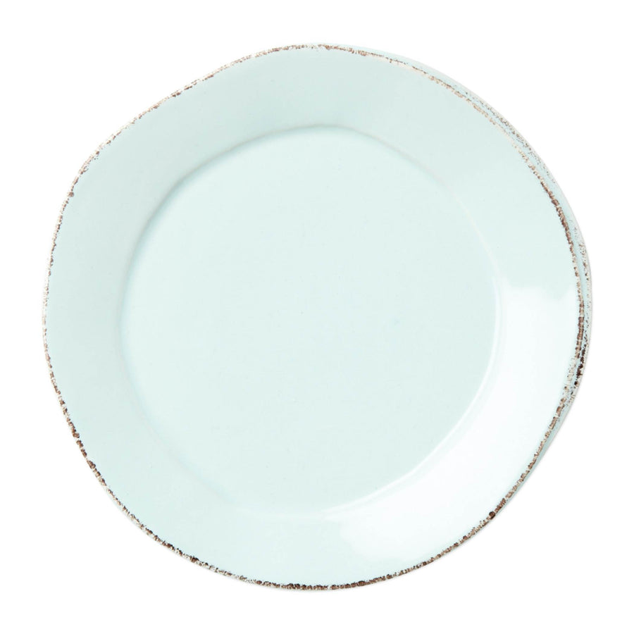 Vietri White Lastra Dinner Plate - Available in 6 Colors LAS-2600W