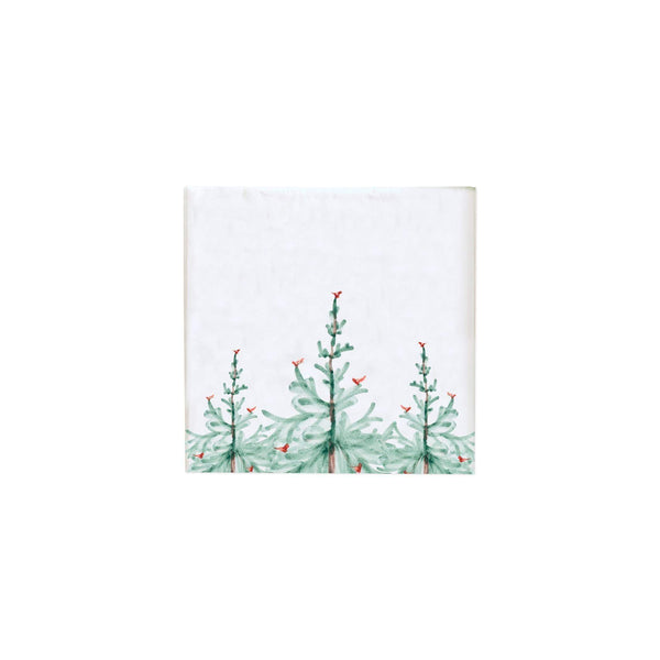 Vietri Lastra Holiday Cocktail Napkins - Set of 12 LAH-1805B