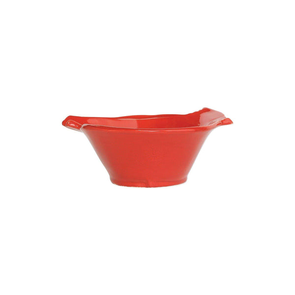 Vietri Lastra Holiday Figural Red Bird Small Bowl - Set of 4 LAH-26020C