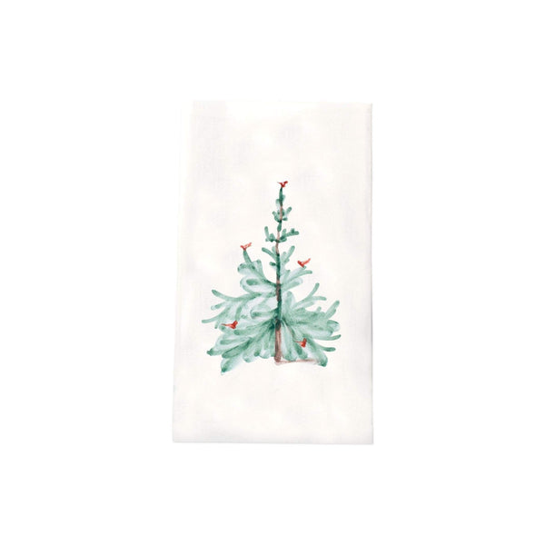 Vietri Lastra Holiday Guest Towels - Set of 12 LAH-1806B