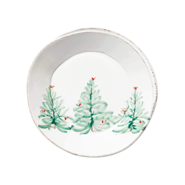 Vietri Lastra Holiday Pasta Bowl - Set of 4 LAH-2604