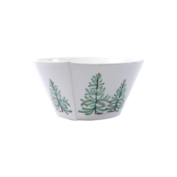 Vietri Vietri Lastra Holiday Stacking Serving Bowl Medium LAH-26021