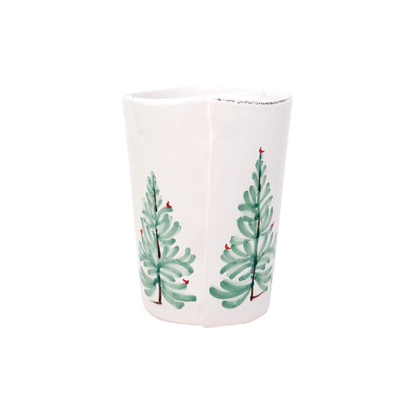 Vietri Vietri Lastra Holiday Utensil Holder LAH-2681