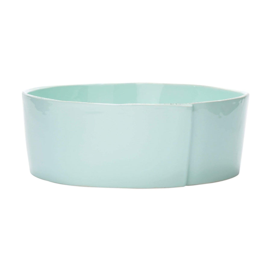 Vietri White Lastra Large Serving Bowls - Available in 6 Colors LAS-2632W