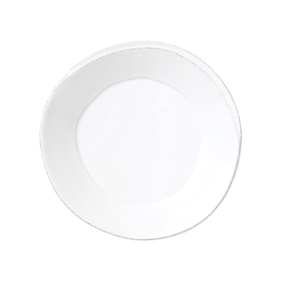 Vietri Vietri Lastra Pasta Bowl - Available in 6 Colors White LAS-2604W