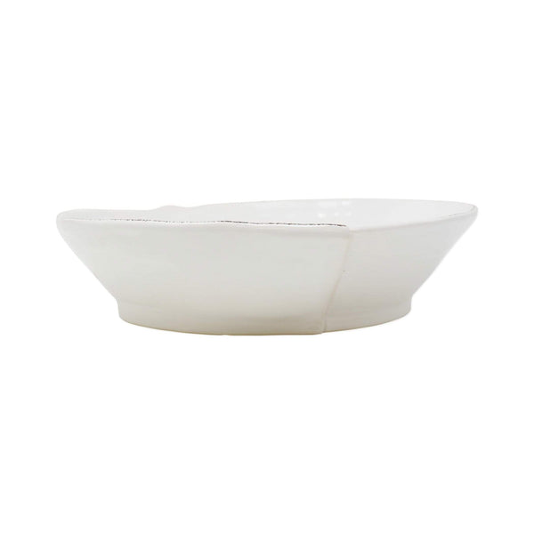 Vietri Vietri Lastra Shallow Serving Bowl Medium LAS-26025W