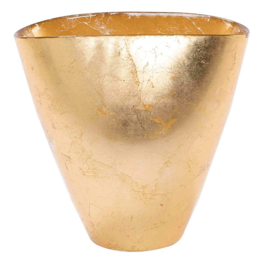 Vietri Small Moon Glass Gold Vase - 2 Available Sizes MNN-5281