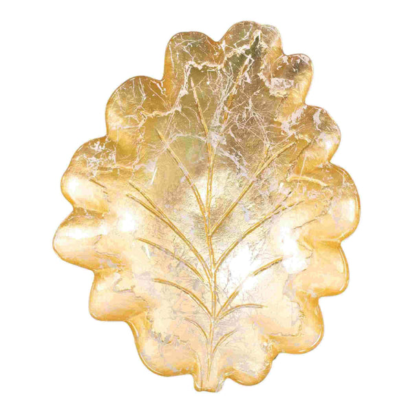 Vietri Vietri Moon Glass Leaf Medium Bowl MNN-5237