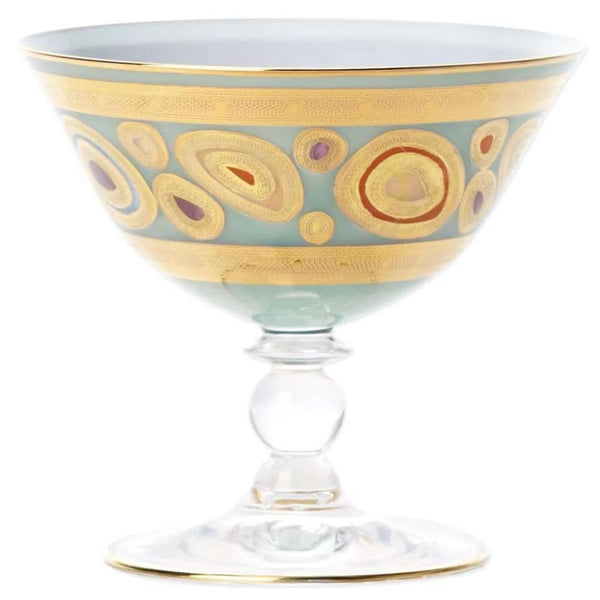 Vietri Vietri Regalia Dessert Bowl - 4 Available Colors Aqua RGI-7623A