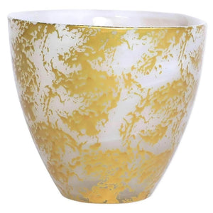 Vietri Vietri Rufolo Glass Gold Scattered Votive RUF-5242