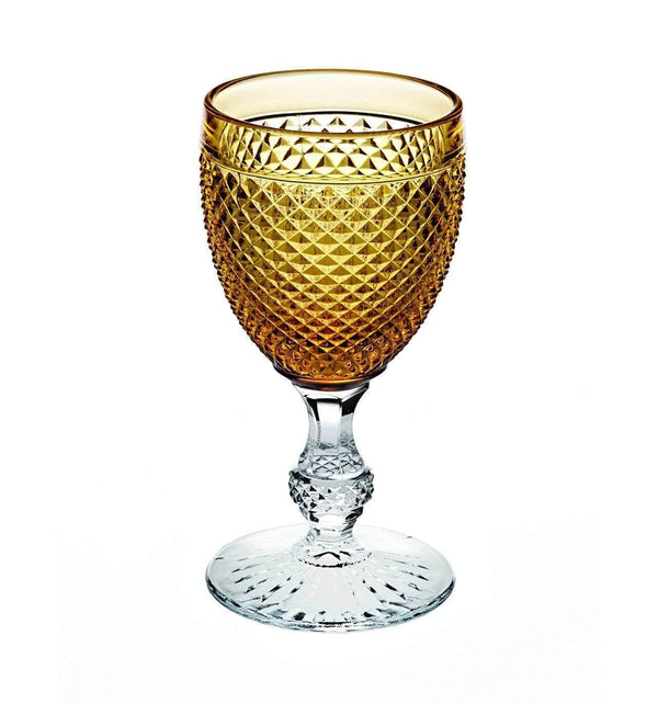 Vista Alegre Vista Alegre Bicos Bicolor Goblet with Amber Top 49000431