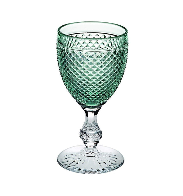 Vista Alegre Bicos Bicolor Goblet with Green Top 49000433