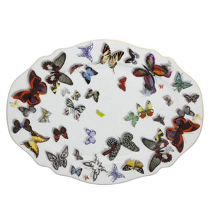 Vista Alegre Christian Lacroix Butterfly Parade Small Oval Platter 21117739