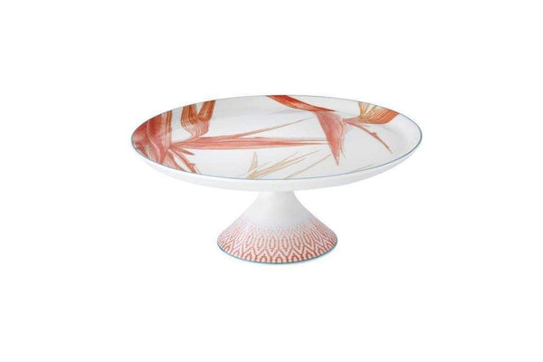Vista Alegre Fiji Large Footed Cake Plate 21124583