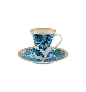 Vista Alegre Gold Exotic Coffee Cup & Saucer 21127102