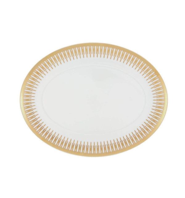 Vista Alegre Gold Exotic Large Oval Platter 21127093