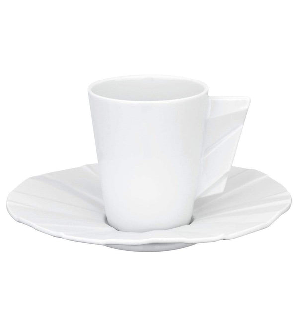 Vista Alegre Vista Alegre Matrix Espresso Cup and Saucer 21115740