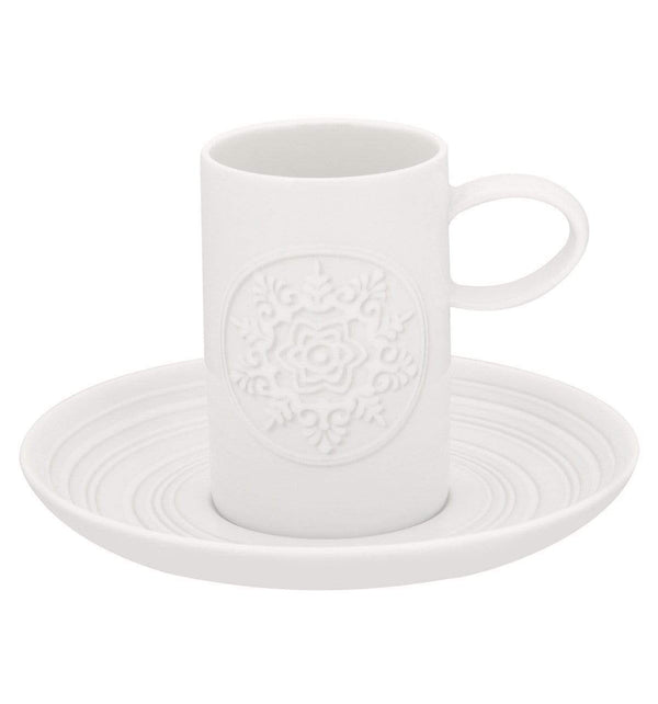 Vista Alegre Vista Alegre Ornament Espresso Cup & Saucers - Set Of 6 21111987