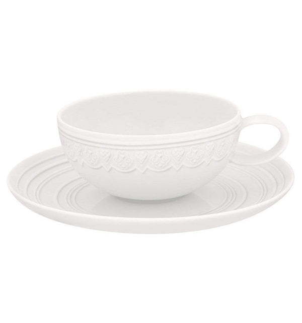 Vista Alegre Ornament Tea Cup & Saucers - Set of 6 21111986