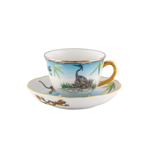 Vista Alegre Vista Alegre Reveries Espresso Cup and Saucer 21127847