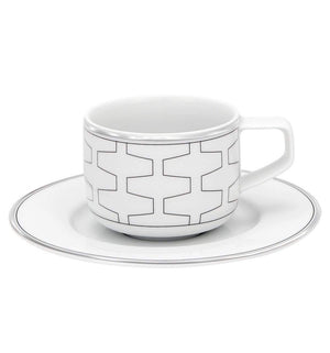Vista Alegre Trasso Coffee Cup and Saucer 21115465