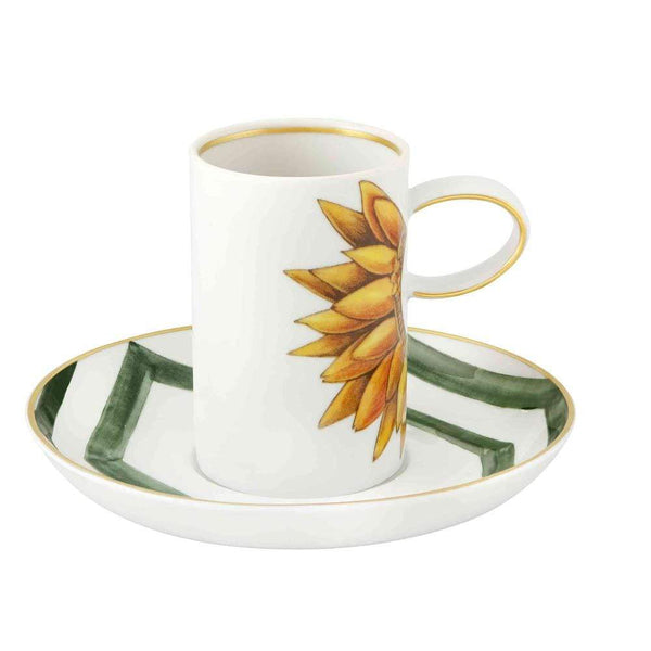 Vista Alegre Vista Alegre Amazonia Coffee Cup and Saucer 21133059
