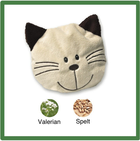 Plush Cat Face Toy