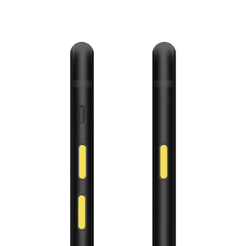 PhoneDots™ for iPhone 8 and 8 Plus – YELLOW  (2 sets)