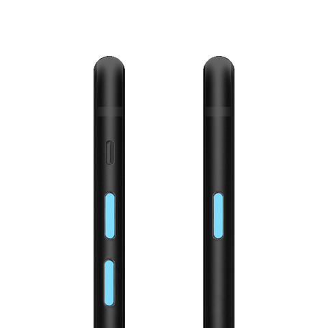 PhoneDots™ for iPhone 8 and 8 Plus – BLUE  (2 sets)