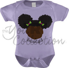Afro Puff_Beautiful (Onesie)