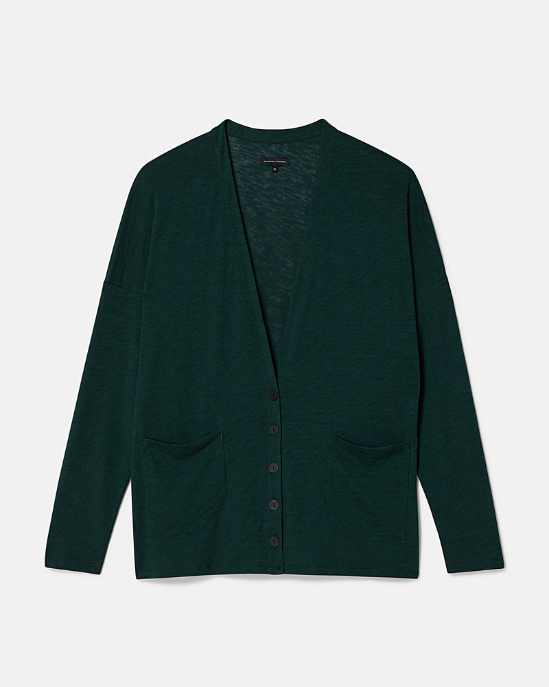 Seft Cardi - Hunter Green