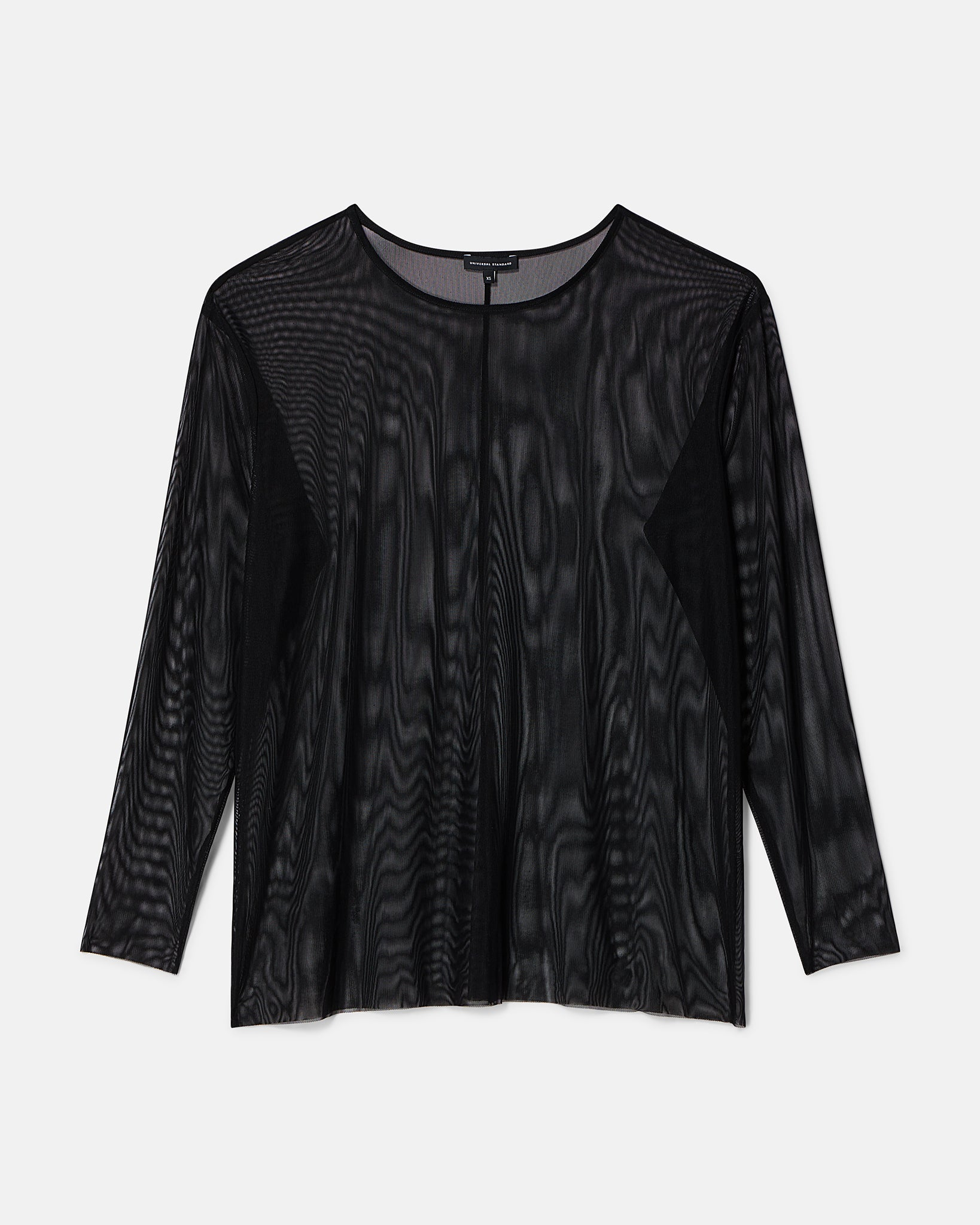 Thames Fog Top - Black