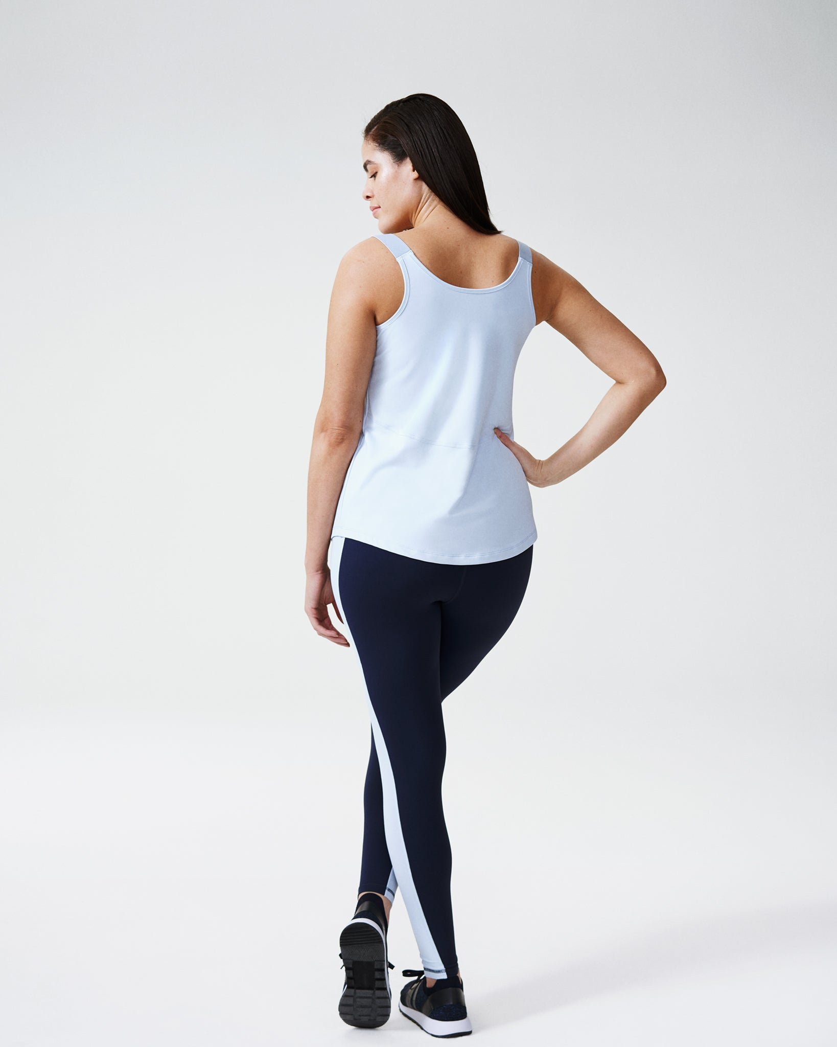 Baseliner Tank - Powder Blue