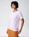 Carrea Relaxed Tee - Pale Pink