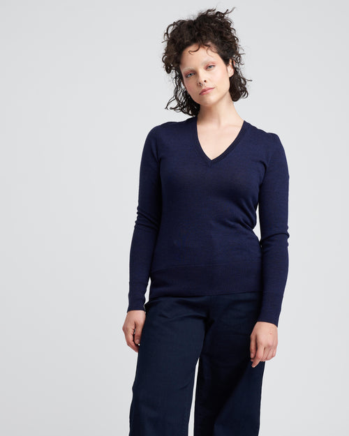 Phebe Sweater - Navy