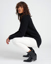 Francesca Turtleneck Sweater - Black Image Thumbnmail #1
