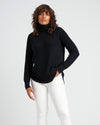Francesca Turtleneck Sweater - Black Image Thumbnmail #2