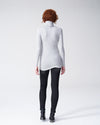 Foundation Turtleneck - Heather Grey Image Thumbnmail #4