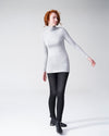 Foundation Turtleneck - Heather Grey Image Thumbnmail #3