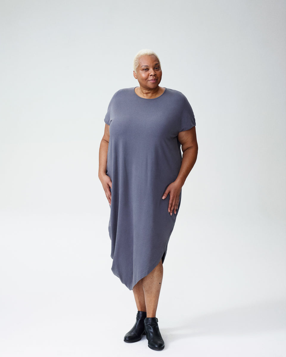 Geneva Dress - Grey