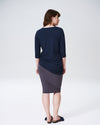 Genevette Top - NavyImage #3