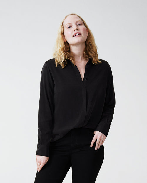 Kennedy Cupro Shirt - Black