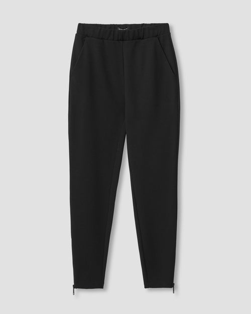 Moro Pocket Ponte Pants - Black