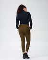 Moro Pocket Ponte Pants - OliveImage #4