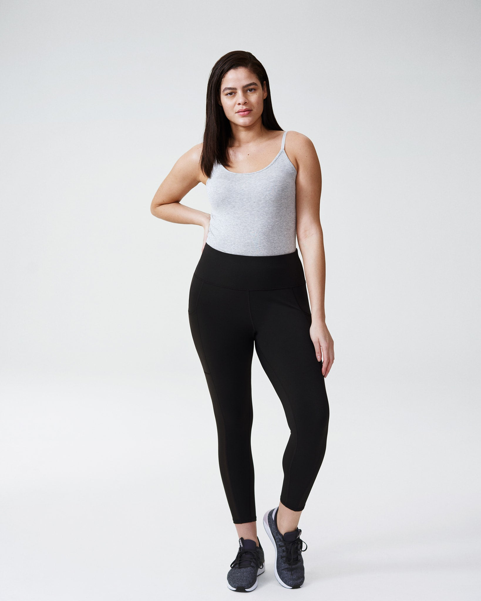 Movement Mesh Side Panel Leggings - Black