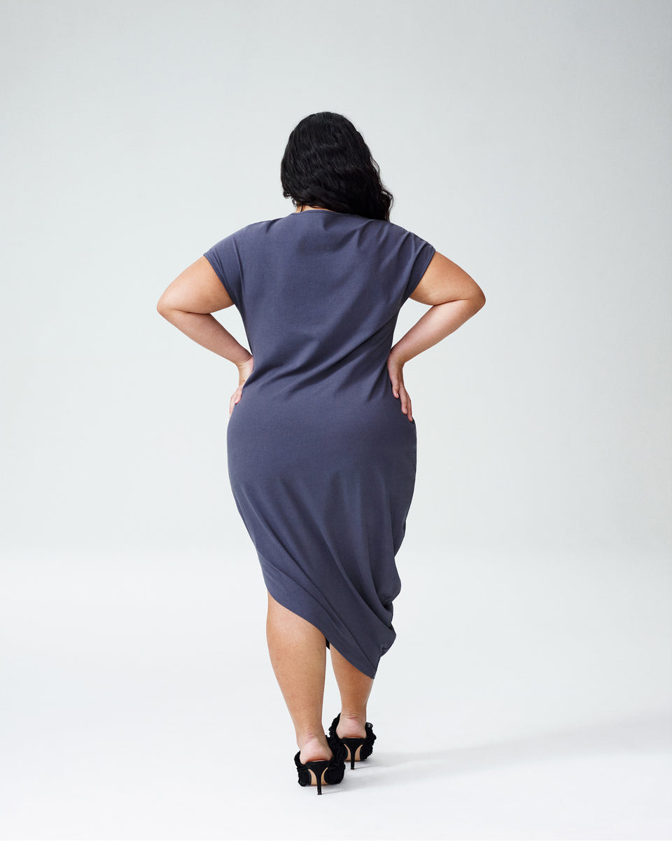 Petite Geneva Dress - Grey